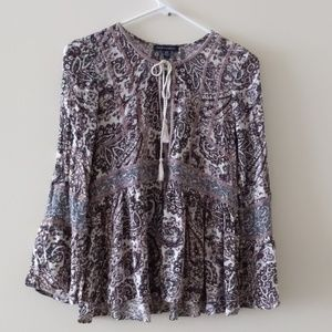 American Eagle Outfitters blouse Size XS Floral